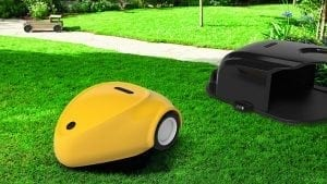 SmartMow robot lawn mower with docking station
